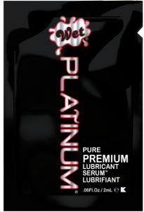 Unique Condoms - Wet Platinum - Premium Lubricant. Non-Latex High Performance Condoms and Lubricant