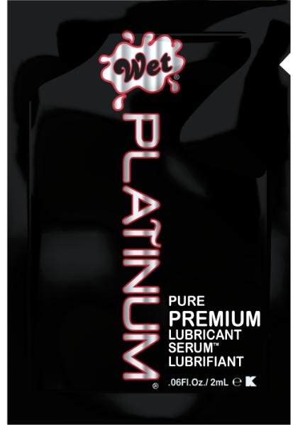 Unique Condoms - Wet Platinum - Premium Lubricant. Non-Latex High Performance Condoms and Lubricant