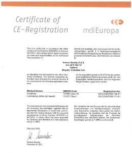 Unique Condoms - Regulatory Certifaction for Europe. Non Latex High Performance Condoms and Lubricant
