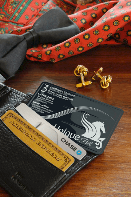 Unique Condoms - Easy to carry, credit card, and wallet size. Non Latex High Performance Condoms and Lubricant